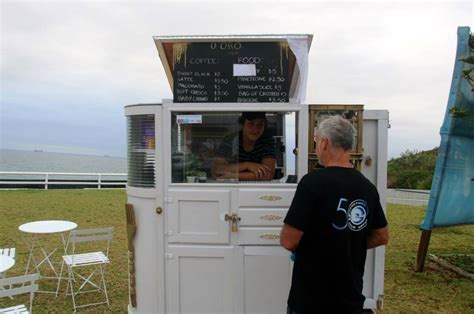 Coffee cart controversy: 15 year old Merewether boy's