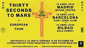 Thirty Seconds To Mars actuarán en Barcelona, Madrid y ...
