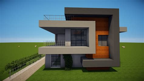 Minecraft Moderne Häuser Bilder by Minecraft Modernes Haus Bauen Tutorial 45 New