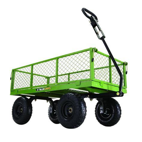depot wagon gorilla carts 800 lb steel utility cart gor801 the home Home