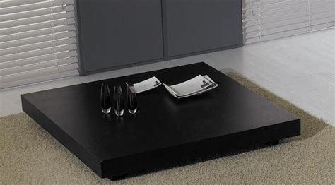 low modern coffee table modern low profile square wenge coffee table toronto
