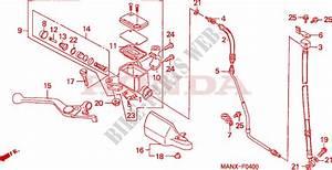 Front Brake Master Cylinder For Honda Dominator 650 Nx