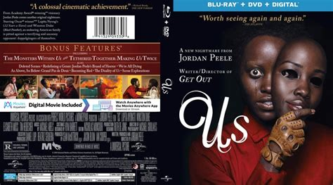 Us (2019) R1 Blu-Ray Cover - DVDcover.Com