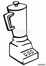 Blender Clipart Mixie Machine Drawing Webstockreview Getdrawings Contents sketch template
