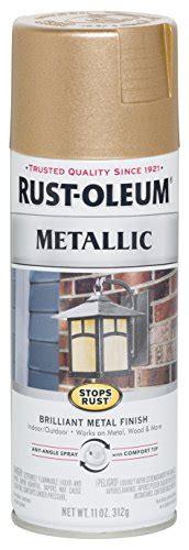 rust oleum  stops rust metallic spray paint  oz