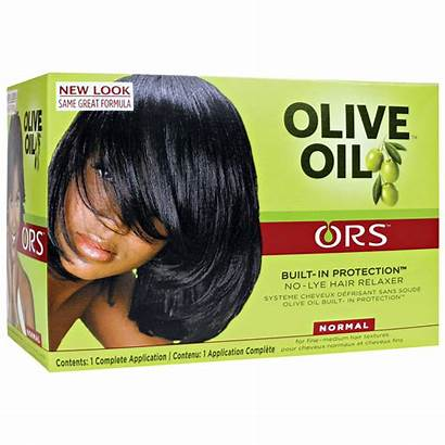Relaxer Olive Ors Oil Hair Normal Organic