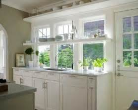 kitchen window ideas open kitchen shelves and stationary window decorating ideas