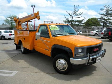 small engine maintenance and repair 1995 gmc 2500 club coupe transmission control sell used 1995 gmc sierra 3500 service truck w crane in virginia in norfolk virginia united