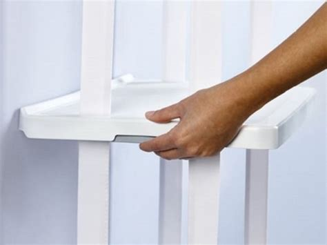 retrofit closet helper 4 shelf unit white