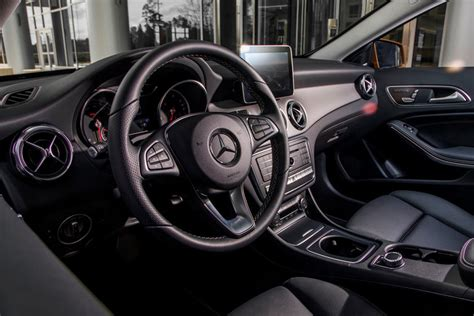 Rebecca jackson tests the first step. 2020 Mercedes-Benz GLA-Class SUV Interior Photos | CarBuzz