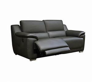 photos canape 2 places relaxation electrique cuir With canape cuir relax electrique vogg