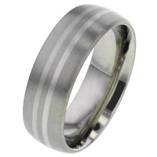 platinum titanium wedding ring titanium rings suay