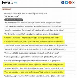 Antisemitic Sentence Examples In Oxford English Dictionary