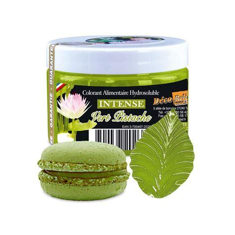 moule a soufflé cuisine colorant vert pistache déco relief pot de 50gr