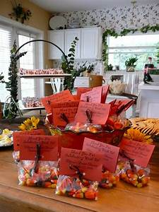 fall bridal shower candy corn favors bridal shower With fall wedding shower themes