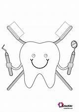 Dentist Coloring Bubakids Printable Cartoon Google Ads sketch template