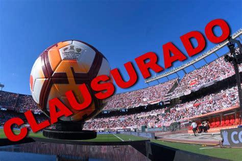 Estadio de River Plate es CLAUSURADO tras incidentes en ...