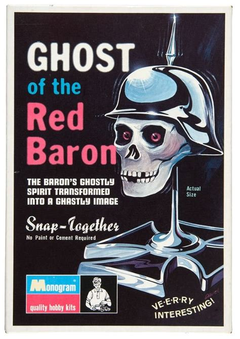 monogram ghost   red baron kit plastic model kits