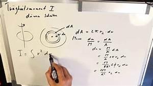 Trägheitsmoment Berechnen Online : 3 tr gheitsmoment d nne scheibe berechnen herleiten youtube ~ Themetempest.com Abrechnung
