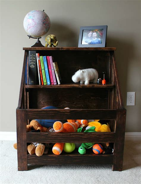 Toybox Bookshelf by Turtles And Tails Bookshelf Toybox Combo Diy