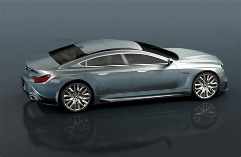 bmw  series sportback concept rendered autoevolution