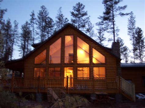 cabins in payson luxury log cabin on the creek with spectacular