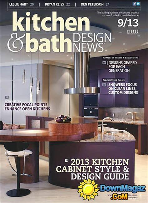 bathroom design magazines kitchen bath design september 2013 pdf