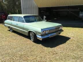 1963 Chevrolet Bel Air Base Wagon 4