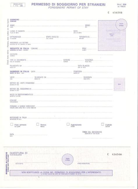 domanda per carta di soggiorno documenti necessari 171 immigrato amico il sito reciproco