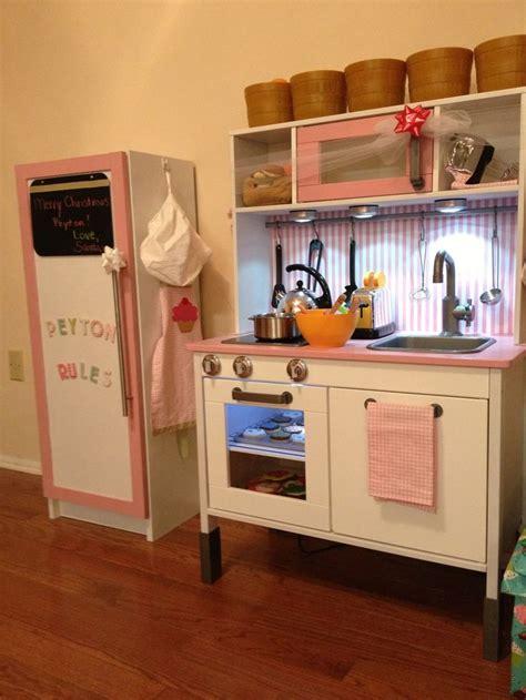 ikea play kitchen accessories ikea duktig play kitchen fridge made from ikea billy 4587