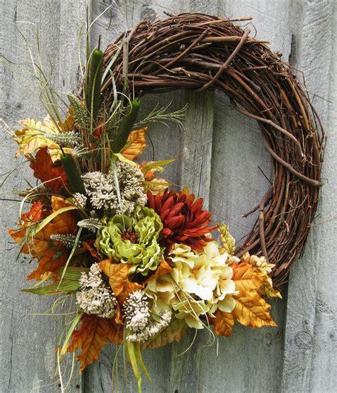 autumn splendor wreath crafts fall wreaths wreaths