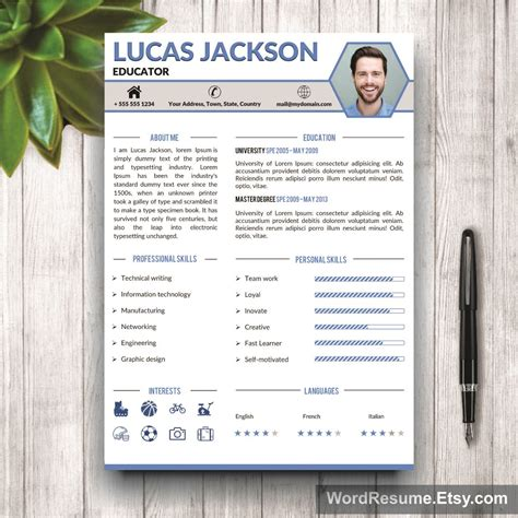 Competition Terms And Conditions Template South Africa by Creative Professional Resume Template Quot Lucas Jackson