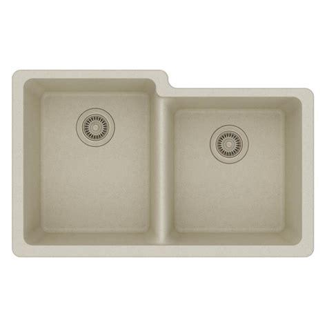 quartz undermount kitchen sinks elkay quartz classic undermount composite 33 in 4476