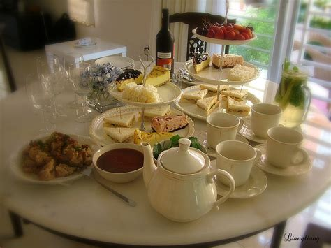 cuisine r馗up afternoon tea