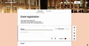 google forms guide everything you need to make great With google forms templates registration