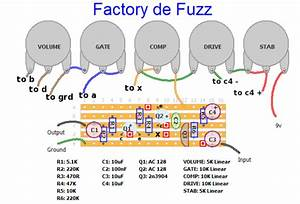 Circuit Diagrams Of Effect Pedals