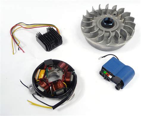 Lambretta Electronic Ignition Kit Flywheel
