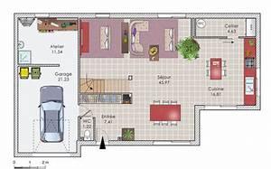 maison bois contemporaine a etage detail du plan de With marvelous des plans pour maison 9 plan et photo de maison avec etage ossature bois par