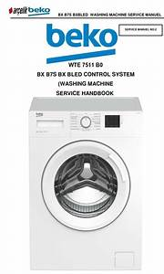 Beko Wte 7511 B0 Washing Machine Service Manual
