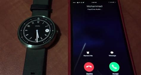 moto 360 with iphone this moto 360 answer iphone calls without a jailbreak