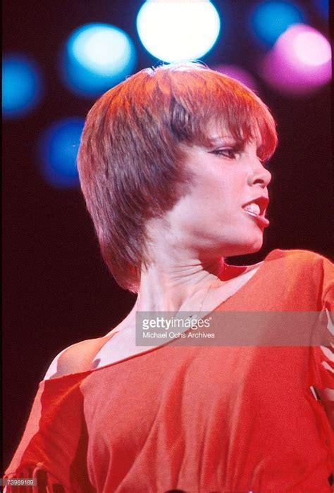 Singer Pat Benatar performs live in November, 1982 in Los ...