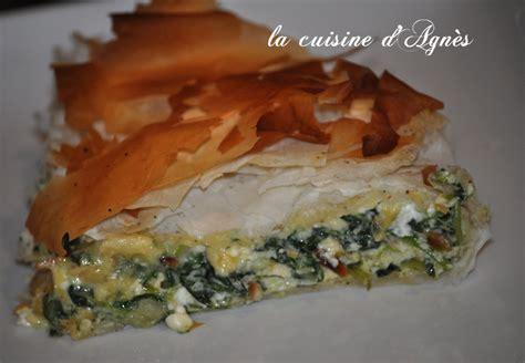 cuisine oliver recettes tourte épinard feta de oliver la cuisine d 39 agnèsla