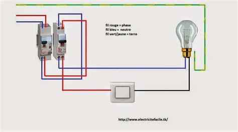 schemas electriques schema electrique simple allumage