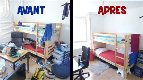 comment ranger sa chambre en 2sec