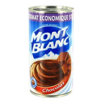 mont blanc creme dessert chocolat 570g tous les produits cr 232 mes dessert en conserve prixing