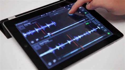 ipad mixing desk app pro dj app for ipad traktor dj essential mixing