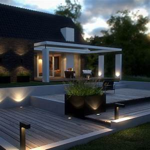 Eclairage Exterieur Jardin : clairage ext rieur pour jardin les jardins de la vall e ~ Melissatoandfro.com Idées de Décoration