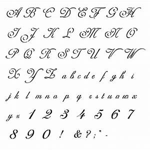 20 best old handwriting styles images on pinterest With handwriting stencils letters
