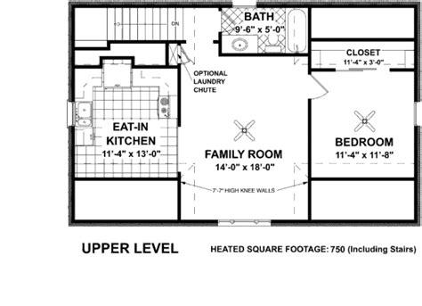 1 Beds 1 Baths 750 Sq/ft Plan