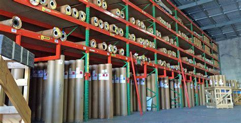 Carpet Roll Storage Systems, Cloths, Vinyls & Fabric